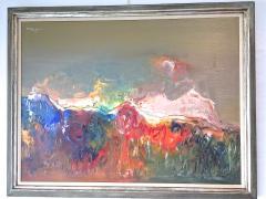 Ralph M Rosenborg American Landscape With Growing Tree - 1166458