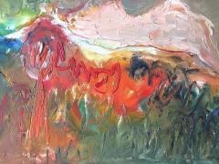 Ralph M Rosenborg American Landscape With Growing Tree - 1179588