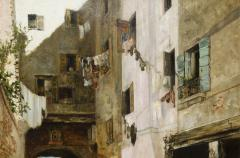 Ralph Wormley Curtis A Street in Venice - 432617