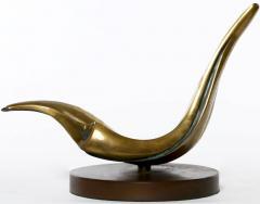 Ramiz Barquet Abstract Bronze Sculpture By Ramiz Barquet - 52510