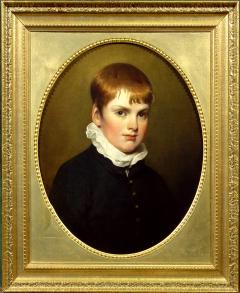 Ramsay Richard Reinagle Portrait of a Young Boy in a Black Coat - 1074193