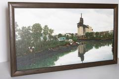 Randy Dudley Oil on Canvas by Randy Dudley titled 4th St Basin Gowanus Canal  - 1986013