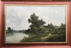 Ransom Gillet Holdredge Village Fishing and View Along the Russian River - 1627959