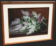Raoul deLongpre Still Life of Lilacs - 354333