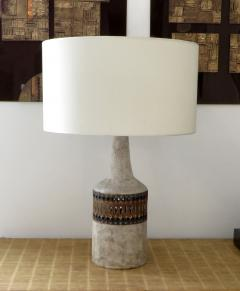 Raphael Giarrusso Raphael Giarrusso French Ceramic Table Lamp Accolay 1968 - 925886