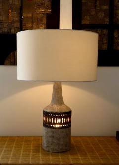 Raphael Giarrusso Raphael Giarrusso French Ceramic Table Lamp Accolay 1968 - 925888
