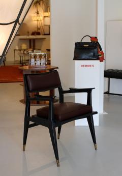 Raphael Raffel Raphael Raffel Pair of Stamped Chairs 1955 1960 - 782495