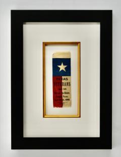 Rare 1889 Texas Revolutionary War Veteran Reunion Ribbon - 1714113