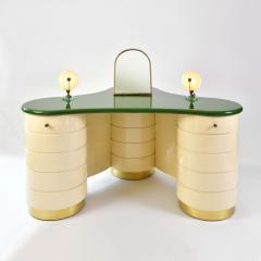 Rare 1960s Italian Vanity Dressing Table Desk - 689121