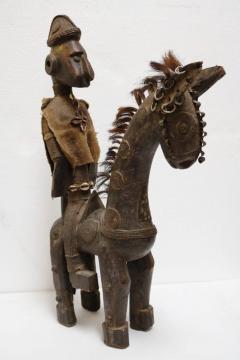 Rare African Horseman Statute - 1102076