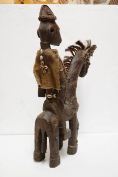 Rare African Horseman Statute - 1102077