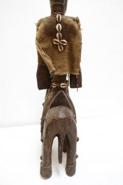 Rare African Horseman Statute - 1102081