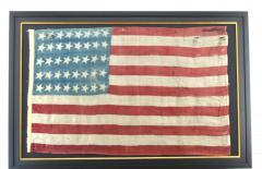 Rare Antique 40 Star American Flag - 1847723