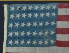 Rare Antique 40 Star American Flag - 1847724