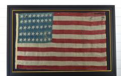 Rare Antique 40 Star American Flag - 1847726