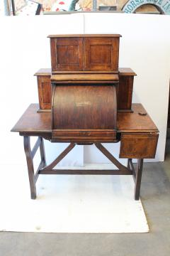 Rare Antique American Industrial Mechanical Desk - 1363053