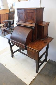 Rare Antique American Industrial Mechanical Desk - 1363054