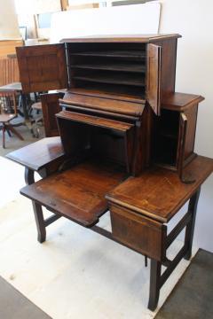 Rare Antique American Industrial Mechanical Desk - 1363058