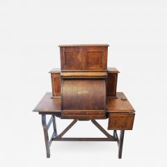 Rare Antique American Industrial Mechanical Desk - 1366515