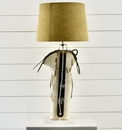 Rare Antique Yacht Mast Table Lamp - 1848706