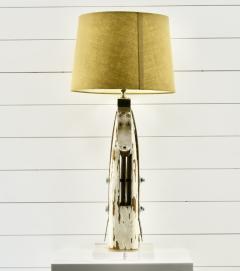 Rare Antique Yacht Mast Table Lamp - 1848707