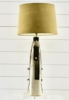Rare Antique Yacht Mast Table Lamp - 1848709
