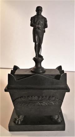 Rare Bronze Napoleon Inkwell Circa 1850 France - 2075168