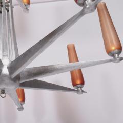 Rare Chandelier Petrolium Club Huston - 1348370