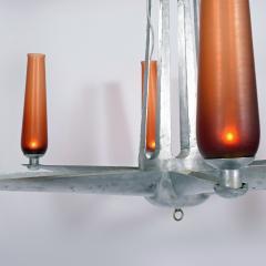 Rare Chandelier Petrolium Club Huston - 1348375