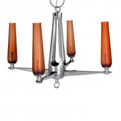 Rare Chandelier Petrolium Club Huston - 1348379