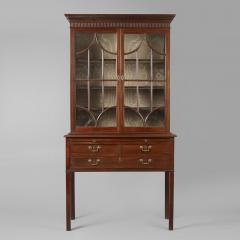Rare Chippendale Desk and Bookcase - 199986