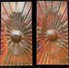 Rare Copper Wall Panelling Cladding by Edit Oborzil 1971 - 2042180
