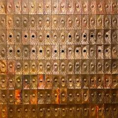 Rare Copper Wall Panelling Cladding by Edit Oborzil 1971 - 2042181