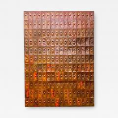 Rare Copper Wall Panelling Cladding by Edit Oborzil 1971 - 2044636
