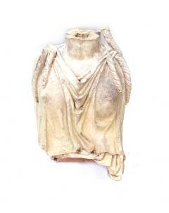 Rare Early 19th Century English Coade Stone Statue Torso of a Soane Caryatid - 547321