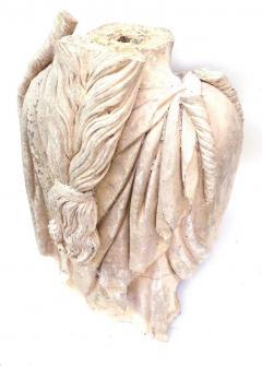 Rare Early 19th Century English Coade Stone Statue Torso of a Soane Caryatid - 547325