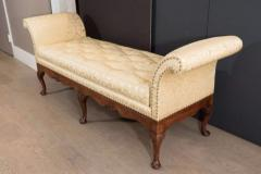 Rare George II Walnut and Shell Carved Day Bed c 1750 - 271904