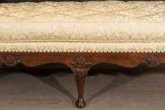 Rare George II Walnut and Shell Carved Day Bed c 1750 - 271905