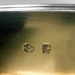 Rare Georgian Silver Bath Snuff Box London 1767 William and Aaron Lesturgeon  - 1201088