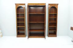 Rare Hans Hopfer Display Bookcase Cabinet Cherrywood WK Germany - 1847933