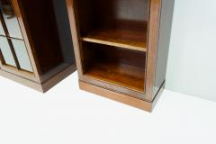 Rare Hans Hopfer Display Bookcase Cabinet Cherrywood WK Germany - 1847936