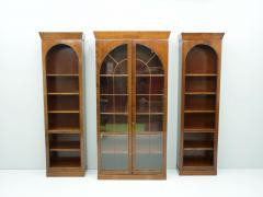 Rare Hans Hopfer Display Bookcase Cabinet Cherrywood WK Germany - 1847937