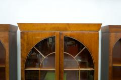 Rare Hans Hopfer Display Bookcase Cabinet Cherrywood WK Germany - 1847938