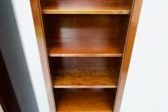Rare Hans Hopfer Display Bookcase Cabinet Cherrywood WK Germany - 1847942