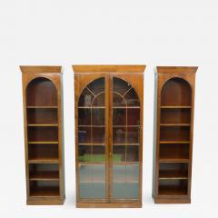 Rare Hans Hopfer Display Bookcase Cabinet Cherrywood WK Germany - 1848564