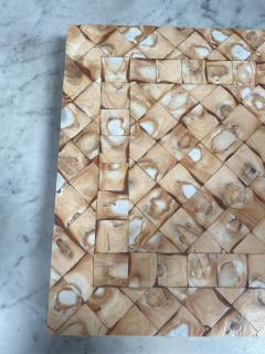 Rare Italian decorative wood Backgammon Game Board circa 1970 - 2111796