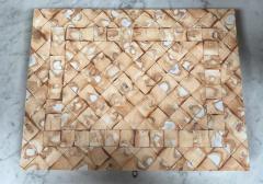 Rare Italian decorative wood Backgammon Game Board circa 1970 - 2111797