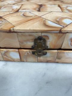 Rare Italian decorative wood Backgammon Game Board circa 1970 - 2111799
