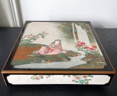 Rare Japanese Lacquer Writing Box Suzuribako Meiji Period - 2125486