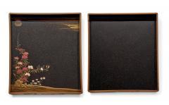 Rare Japanese Lacquer Writing Box Suzuribako Meiji Period - 2125490